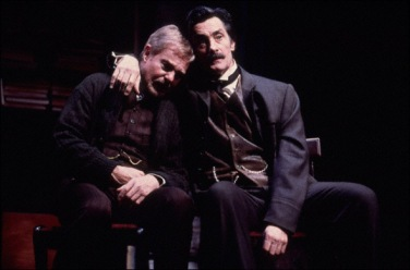 Derek Jacobi and Roger Rees in the Roundabout's 2000 revival of Uncle Vanya. Photo by Joan Marcus.
