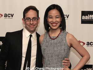 "Garth Kravits and Best Actress Nominee Lia Chang in Hide and Seek of ""Bev's Girl Films"" (Top Ten Film"