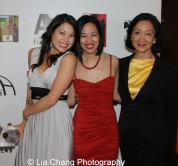 Jennifer Betit Yen, Lia Chang and Tina Chen at the 11th Annual 72 Hour Shootout Red Carpet Awards Ceremony and wrap party at The Azure in New York on July 25, 2015. Photo by John Haggerty