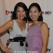 Film Lab President, actor Jennifer Betit Yen, and Shootout Coordinator, videographer and vocalist Youn Jung Kim at the 11th Annual 72 Hour Shootout World Premiere Film Screening at Village Cinema East in New York on July 25, 2015. Photo by Lia Chang