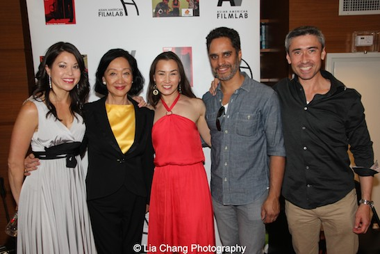 Jennifer Betit Yen, Tina Chen, Michelle Liu Coughlin, Martin Sola and John Haggerty at the 11th Annual 72 Hour Shootout Red Carpet Awards Ceremony and wrap party at The Azure in New York on July 25, 2015. Photo by Lia Chang