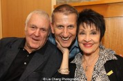 Composer John Kander, producer Tom KIrdahy and Actress Chita Rivera attend the 'The Visit' Broadway cast performance and CD signing at Barnes & Noble, 86th & Lexington on July 9, 2015 in New York City. Photo by Lia Chang