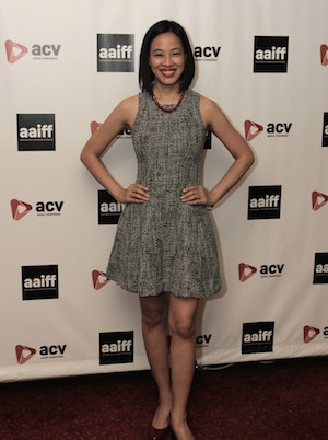 Lia Chang at the 11th Annual 72 Hour Shootout World Premiere Film Screening at Village Cinema East in New York on July 25, 2015. Photo by GK