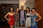 Lia Chang, Garth Kravits, Blue Michael, Jennifer Betit Yen and Erin Quill at the 11th Annual 72 Hour Shootout Red Carpet Awards Ceremony and wrap party at The Azure in New York on July 25, 2015.