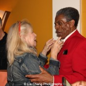 Marcelle McVay and André De Shields at the opening night party of Victory Gardens Theater's 2015 IGNITION Festival of New Plays in Chicago on July 16, 2015. Photo by Lia Chang