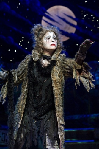Lea Salonga as Grizabella in CATS at the Tanghalang Nicanor Abelardo, Cultural Center of the Philippines (CCP). (2010)