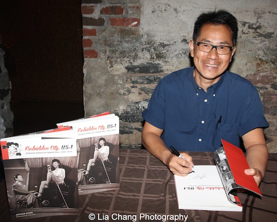 Author/filmmaker Arthur Dong at MoCA in New York on July 26, 2015. Photo by Lia Chang