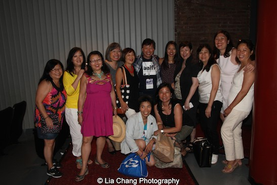 Tzi Ma with the community at the AAIFF2015 screening of AMC's Hell on Wheels at Village East Cinema in New York on July 31, 2015. Photo by Lia Chang