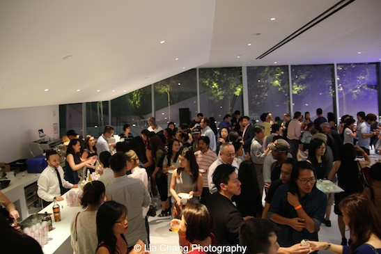 The closing night party of the 38th Asian American International Film Festival at the Museum of the Moving Image in Astoria on August 1, 2015. Photo by Lia Chang