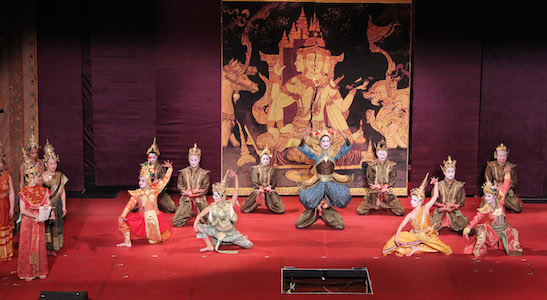 Harbor Lights Theater Company's Production of The King and I, directed by Alan Muraoka (November 2012). Photo by Lia Chang