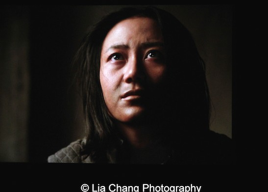 Angela Zhou as Fong/Mei in Hell on Wheels. Photo by Lia Chang