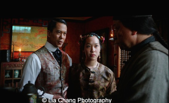 Byron Mann as Chang and Tzi Ma as Tao in AMC's Hell on Wheels. Photo by Lia Chang