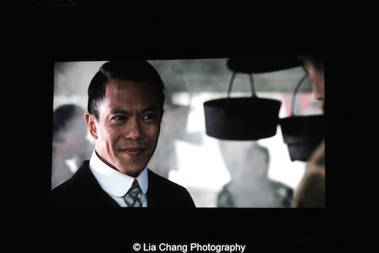 Byron Mann as Chang in AMC's Hell on Wheels. Photo by Lia Chang
