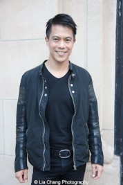 Actor Byron Mann attends the AAIFF2015 screening of AMC's Hell on Wheels at Cinema Village East in New York on July 31, 2015. Photo by Lia Chang