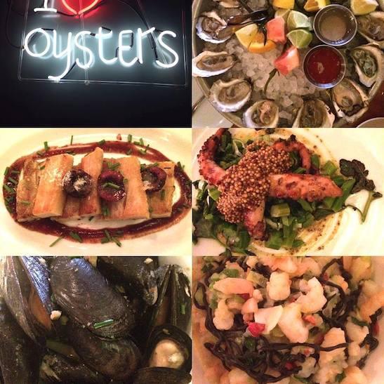 Dinner at Crave Fishbar. Photos by Lia Chang