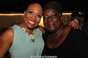 Dee Dee Bridgewater and Ebony Jo-Ann at The Wiz is 40 at Rumsey Playfield, Summerstage in New York on August 12, 2015. Photo by Lia Chang