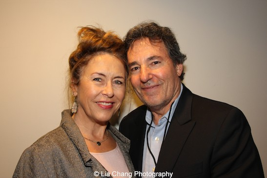 Gail and John Wirth attend the AAIFF2015 screening of AMC's Hell on Wheels at Village East Cinema in New York on July 31, 2015. Photo by Lia Chang