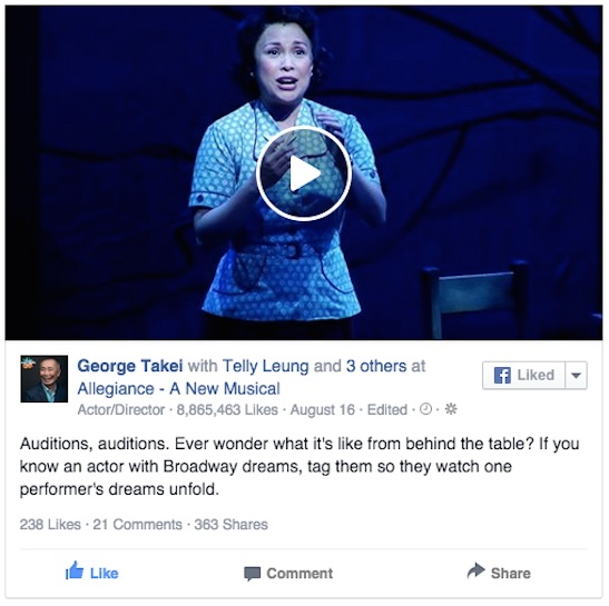 Lea Salonga in Allegiance. Photo courtesy of Allegiance