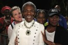 Thelma Pollard, Terria Joseph, André De Shields, Dyane Harvey-Salaam and Elain Graham at The Wiz is 40 at Rumsey Playfield, Summerstage in New York on August 12, 2015. Photo by Lia Chang