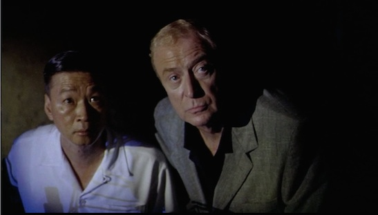 Tzi Ma and Michael Caine in The Quiet American. (2002)