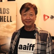 Actor Tzi Ma attends the AAIFF2015 screening of AMC's Hell on Wheels at Cinema Village East in New York on July 31, 2015. Photo by Lia Chang