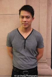 Byron Mann attends the screening of Dax Phelan's Jasmine at Village East Cinema in New York on July 30, 2015. Photo by Lia Chang