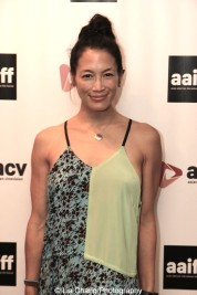 Eugenia Yuan attends the screening of Dax Phelan's Jasmine at Village East Cinema in New York on July 30, 2015. Photo by Lia Chang