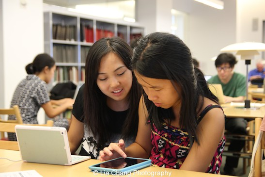Smithsonian Asian Pacific American Center's Edit-a-thon at Museum of Modern Art in New York on September 2, 2015. Photo by Lia Chang