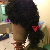 Wig design by Erin Hicks. Photo by Lia Chang