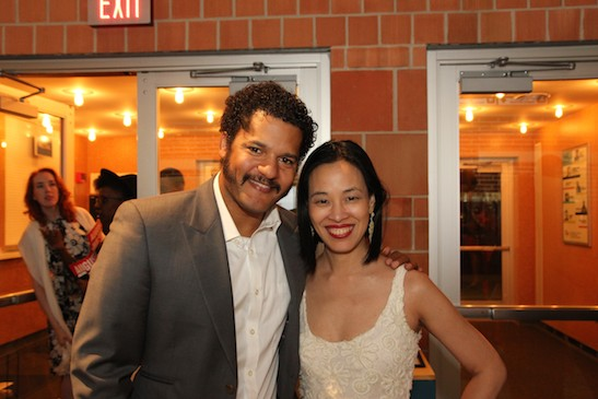 Brandon J. Dirden and Lia Chang. Photo by GK