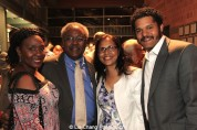 Elain Graham, Willie Dirden, Mrs. Dirden, Brandon J. Dirden. Photo by Lia Chang