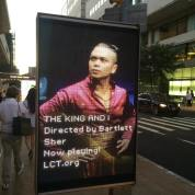 Jose Llana as The King. Photo by Lia Chang