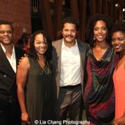 Kevin Mambo, Crystal Dickinson, Brandon J. Dirden, Christina Acosta Robinson, Brittany Bellizeare. Photo by Lia Chang