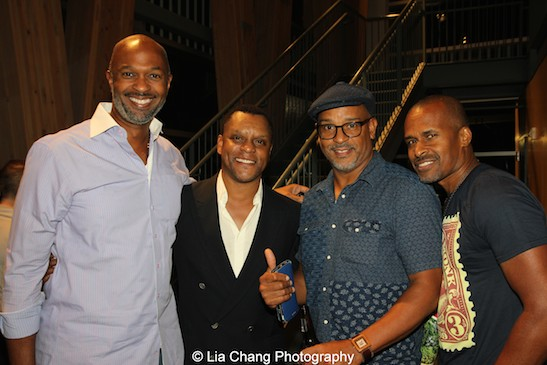Andre Blake, Kevin Mambo, Keith Johnston and Keith Josef Adkins. Photo by Lia Chang