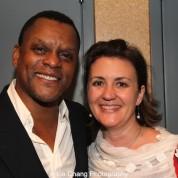Kevin Mambo, Lisa Rothe. Photo by Lia Chang