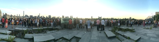 The rooftop of The Metropolitan Museum of Art on Saturday, September 5, 2015. Photo by Lia Chang
