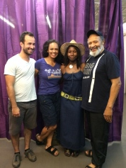 Alejandro Rodriquez, Nafeesa Monroe, Lolita Foster and Count Stovall. Photo by Lia Chang