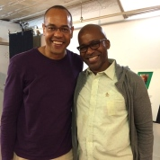 Tyrone Mitchell Henderson and Timothy Douglas. Photo by Lia Chang