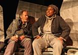Brian Hickey and Richarda Abrams in HOMELESS AND HOW WE GOT THAT WAY. Photo by Jay Rivera:Beez Eye Photography