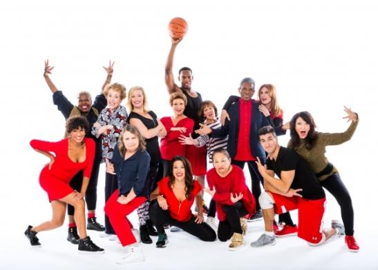 The cast of GOTTA DANCE. Photo by Matthew Murphy