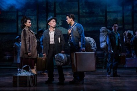 Lea Salonga, George Takei, Telly Leung , Michael K. Lee and company. Photo by Matthew Murphy