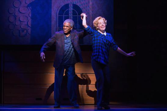 André De Shields and Georgia Engel in GOTTA DANCE. Photo by Matthew Murphy