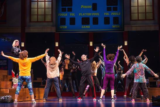 Haven Burton, André De Shields and the cast of GOTTA DANCE. Photo by Matthew Murphy