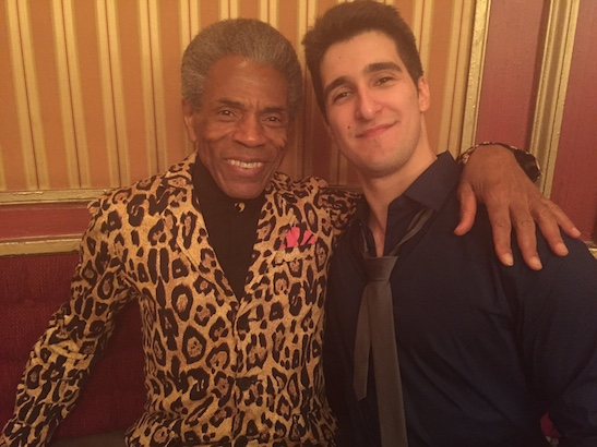 André De Shields and Alexander Aguilar. Photo by Merle Frimark