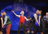 Maggy Lakis, Brandon Ellis, Garth Kravits, Wayne Wilcox, Whitney Bashor and Kevin Pariseau in 'It's A Wonderful Life: A Live Radio Play' at Buck's County Playhouse through December 27, 2015. Photo by Mandee Kuenzle