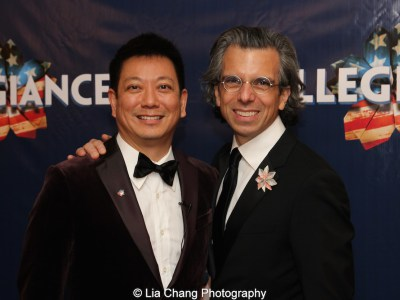 Jay Kuo and Marc Acito. Photo by Lia Chang