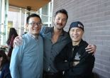 ALICE CHAN co-playwright Robert Lee, scenic and costume designer Lex Liang and co-playwright:director BD WONG. Photo: La Jolla Playhouse/Facebook