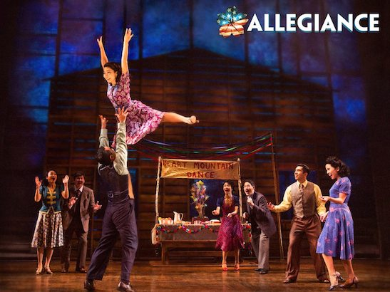The cast of 'Allegiance'. Photo by Matthew Murphy