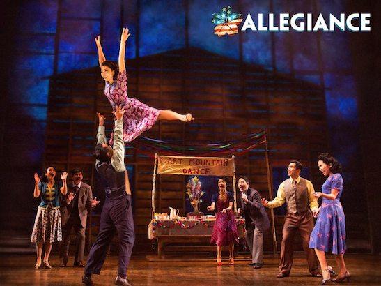 The cast of 'Allegiance'. Photo by Matthew Murphy