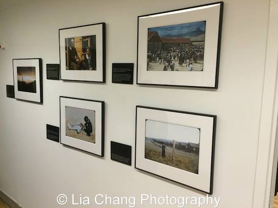 Colors of Confinement: Rare Kodachrome Photographs of Japanese American Confinement in World War II on view through May 12, 2016. Photo by Lia Chang